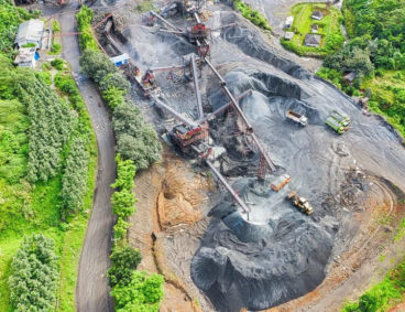 Caracterização geoquímica de áreas mineiras