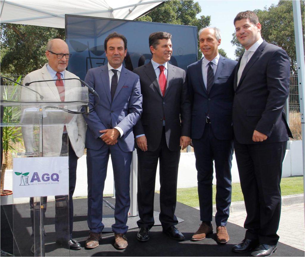 Ministro da Economia inaugura AGQ Labs (imagens e vídeo)